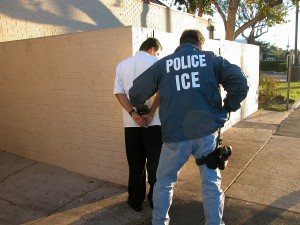 US Immigration and Customs Enforcement pursues migrants who are willing to work..