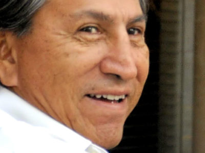 Alejandro Toledo is alleged to have taken a USD $20 million bribe for awarding a lucrative contract to Odebrecht (