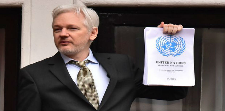 The Ecuadorian government is seeking the means to transport Julian Assange from London to Ecuador (