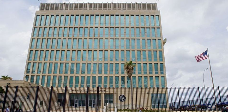 US Cuban embassy staff being kept at a minimum after attacks on staff continue unsolved | archive photo