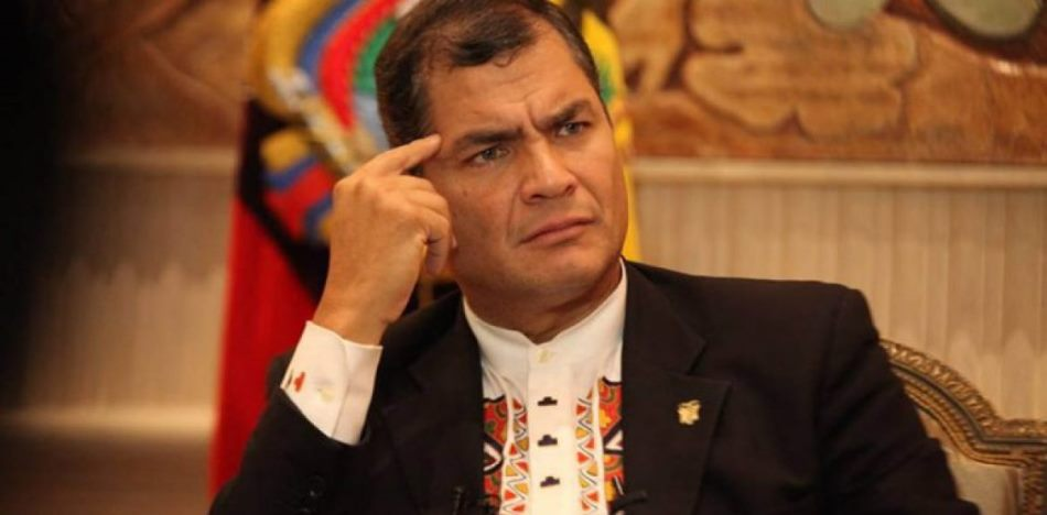 President Correa has demanded the extradition of Charlie Pareja from Peru for money laundering and corruption charges (