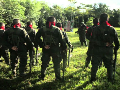 The ELN recently released soldier Fredy Moreno, and is desirous of commencing peace talks (