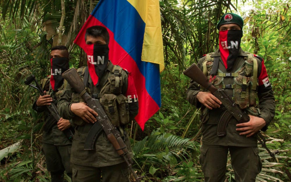 The ELN recently kidnapped a Venezuelan citizen in the border region (
