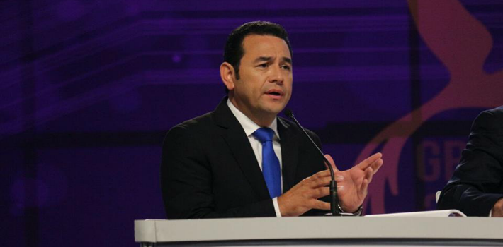 Will new Guatemalan President Jimmy Morales have the moxie to face progressive international organizations, media, politicians?