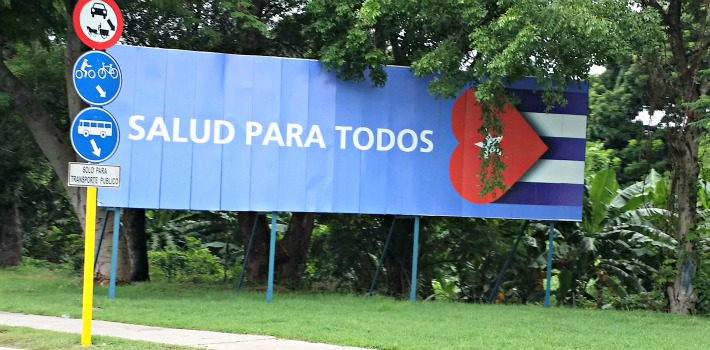 The reality of the Cuban health care system is far from the paradise promoted on billboards.