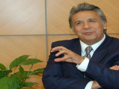 Lenin Moreno narrowly missed a first round victory, and will now face Guillermo Lasso in a second round (