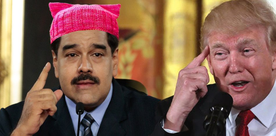 Maduro declared herself a feminist, the president of women; Trump said that he's with everyone. (PanAm Post)