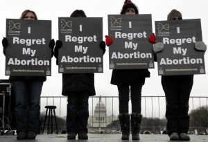 Several attendees of the March for Life have had first-hand experience with abortion.