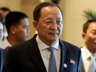 The North Korean foreign minister will arrive on Monday afternoon to Cuba for the official visit with Cuban counterpart Bruno Rodríguez. (Twitter)