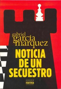 Noticia de un Secuestro por Gabriel García Márquez. (Amazon)