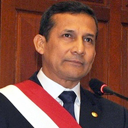Former president Ollanta Humala has had his travel restricted by Peruvian authorities (
