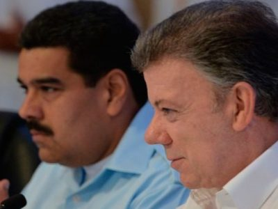 Maduro hopes to use Santos'' prestige to cling to power in Venezuela (
