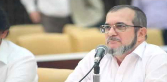 FARC leader Timochenko has called for his troops to be ready to resumed armed struggle if a political solution is not reached.