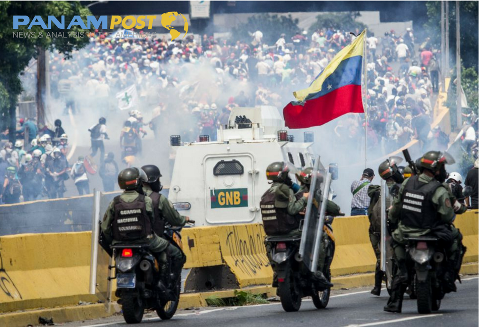Protests in Venezuela Remain Strong on Labor Day