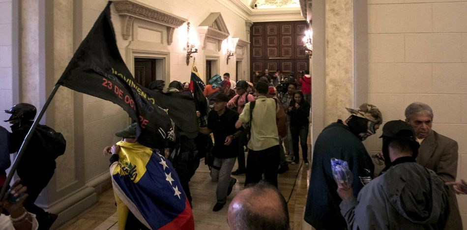 The Assault on Venezuela's Parliament