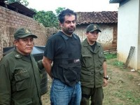 Bolivian forces captured former aide to President Humala Martín Belaunde four days after he flew from his house arrest in La Paz. (Presidency Ministry)