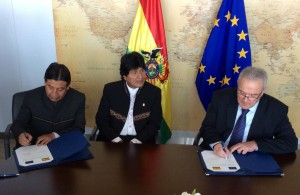 Morales is open to reform the Constitution if people asks him to run again (Agency of Bolivian Information)