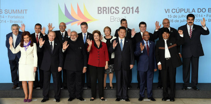 BRICS leaders in Brasilia welcome additional heads of state from throughout Latin America