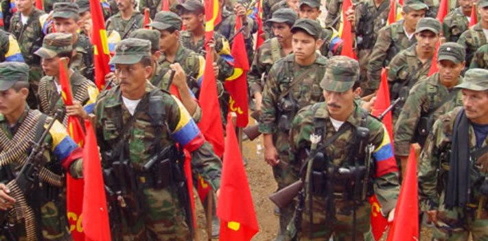 Venezuela serves as a hideout and source of mineral resources to the Colombian guerrilla FARC.