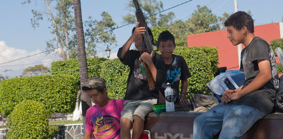 Over 30,000 Children Involved in Organized Crime in Mexico