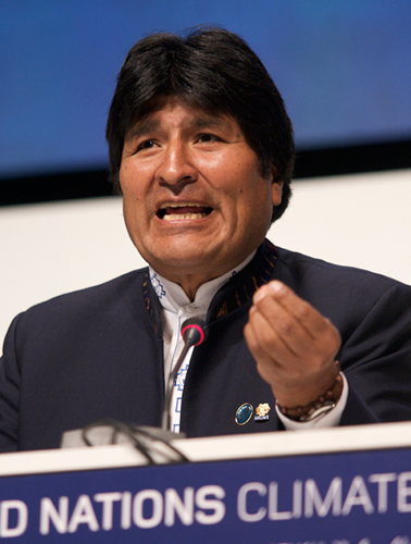 Morales assures nuclear energy won't be used for war-related purposes