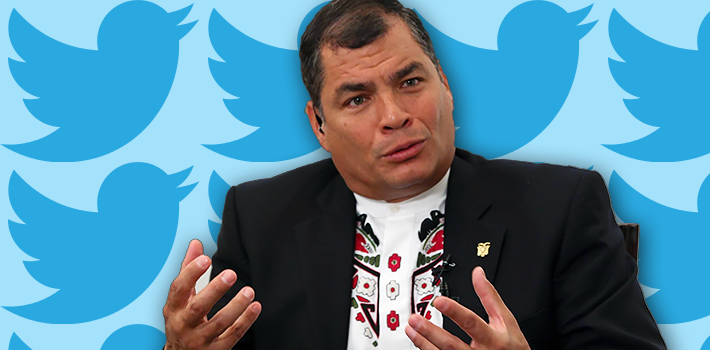 Rafael Correa and Twitter censorship