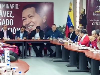 Military authorities, political leaders and Maduro supporters were part of the presentation of the Institution. (Twitter)