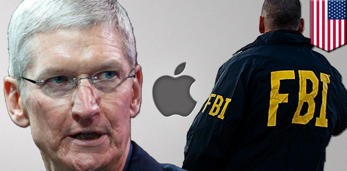 Apple's CEO Tim Cook has decided to put up a fight against the FBI. (Youtube)