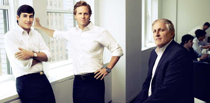 Cullen Thompson (middle) is the founder of Bienville Capital Management, one of the few funds actively invested in Argentina. (Bienville Capital Management)