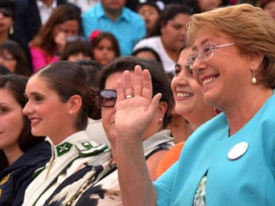 President Michelle Bachelet went all out for International Women's Day, hosting a celebration in Santiago and announcing the creation of new government ministry specifically for women in Chile. (@GobiernodeChile)