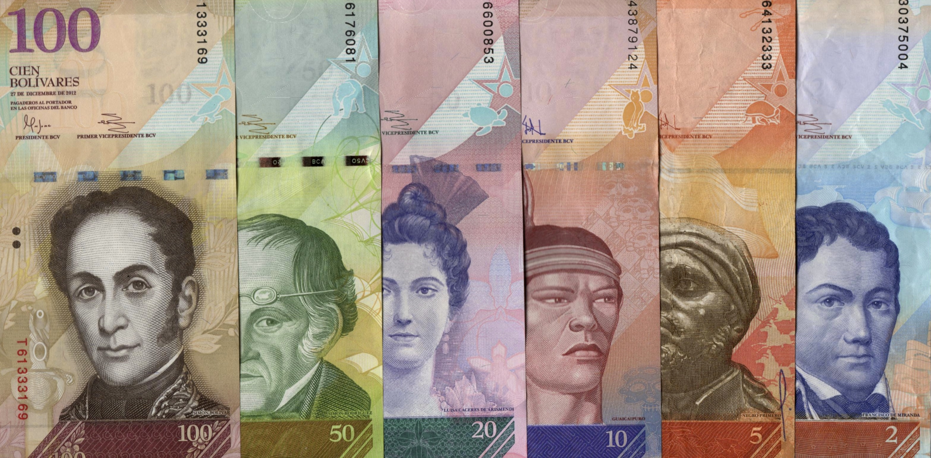 Venezuelan Bolívar's Strongest Bill Now Fetches 47 US Cents