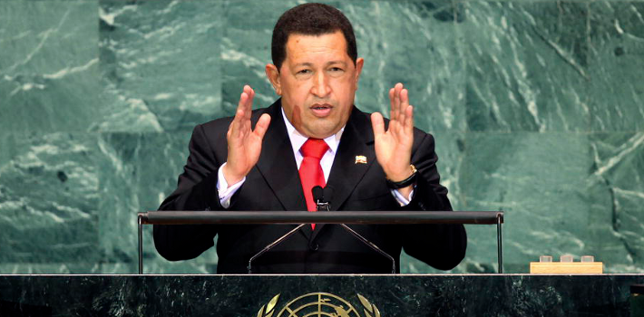 Hugo Chávez tried to gain a seat on the UN Security Council in 2006.