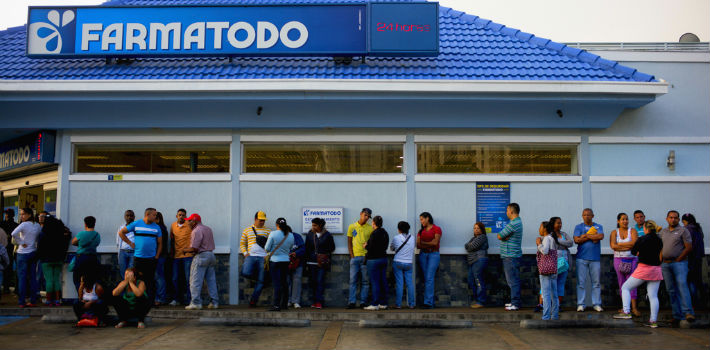 Medicine shortages in Venezuela create long lines that put thousands of lives at risk.