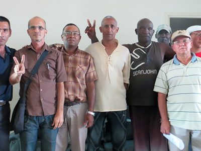 Members of the Anarcho-Capitalist Club of Cuba. (xxx)