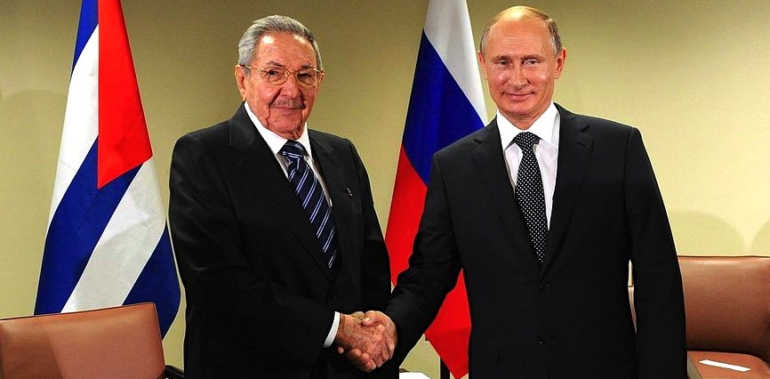 Cuban Dictator Raúl Castro has shown consistent support for his counterpart Vladimir Putin of Russia. (@DJSabroso)