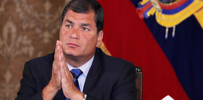 Since day one, President Rafael Correa's mythomania has been on full display.