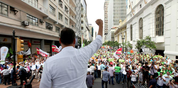 Rafael Correa aims for his government to reduce the gap between the highest and lowest-paid workers in Ecuador
