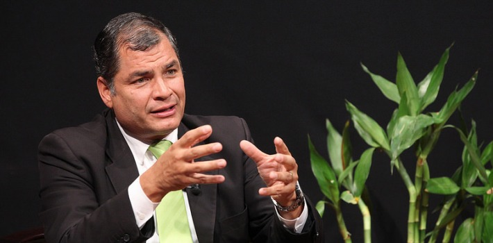 "Seven years after enacting a new Constitution, President Rafael Correa seeks a new reform to consolidate his autocratic rule. (<a href=""http://www.ecuavisa.com/articulo/noticias/nacional/88487-haber-limitado-reeleccion-montecristi-fue-error-dice-correa"" target=""_blank"">Ecuavisa</a>)"