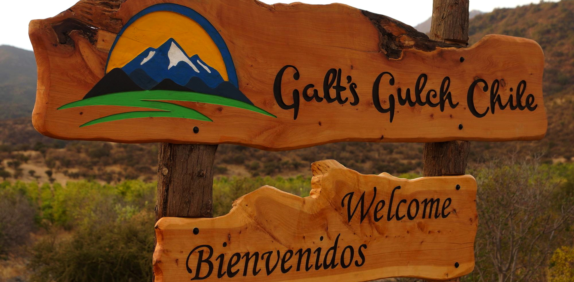 Galt's Gult Chile, a libertarian development project inspired by Ayn Rand's Atlas Shrugged. (Galt's Gult Chile)