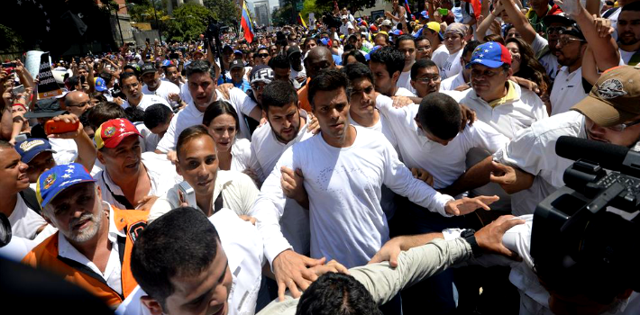 Leopoldo López makes the government uncomfortable