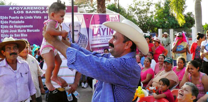 Hilario Ramírez Villanueva, mayor of the Mexican city of San Blas, courts fresh controversy during Easter weekend with his latest display of generosity.