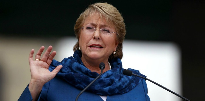 Scandals have brought Bachelet's approval rates to all-time lows.