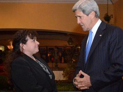 Former Attorney Genernal Claudia Paz y Paz has been the darling of the United States. (Wikimedia)