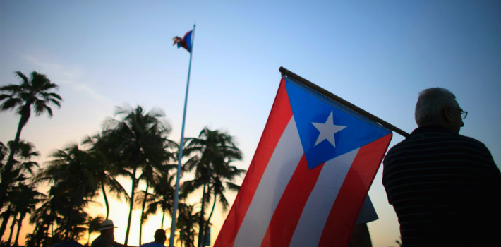 Puerto Rico's economy has suffered because of Washington politics.