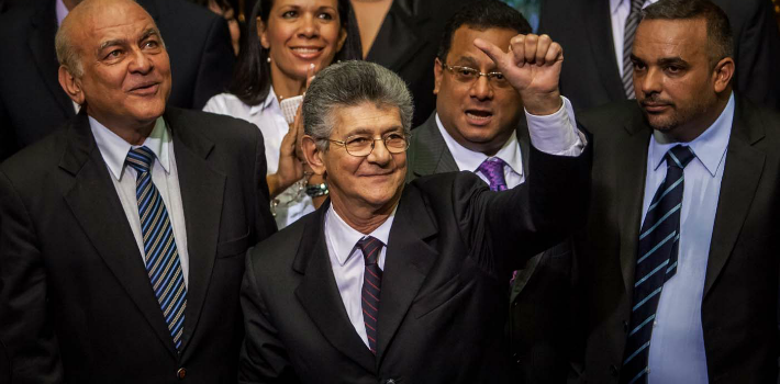 The head of Venezuela's Congress, Henry Ramos Allup, assures that the opposition will act within constitutional limits.
