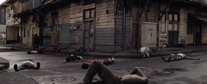 Reenactments bring to life the painful episode in Panama's history. (YouTube screenshot)