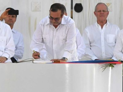 New Farc agreement