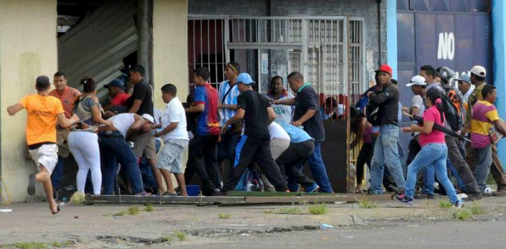 According to the Venezuelan Observatory of Social Conflict, markets throughout the country have been looted over 50 times in the first half of the year.