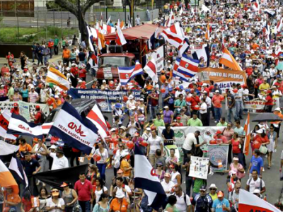 Labor Strikes across Costa Rica backfire on unions  (La Prensa)