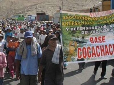 Protests in Islay, southern Peru, have seen Lima send in troops to restore order. (Perú 21)